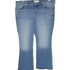 Torrid Jeans Slim Bootcut Light Blue Denim Stretch